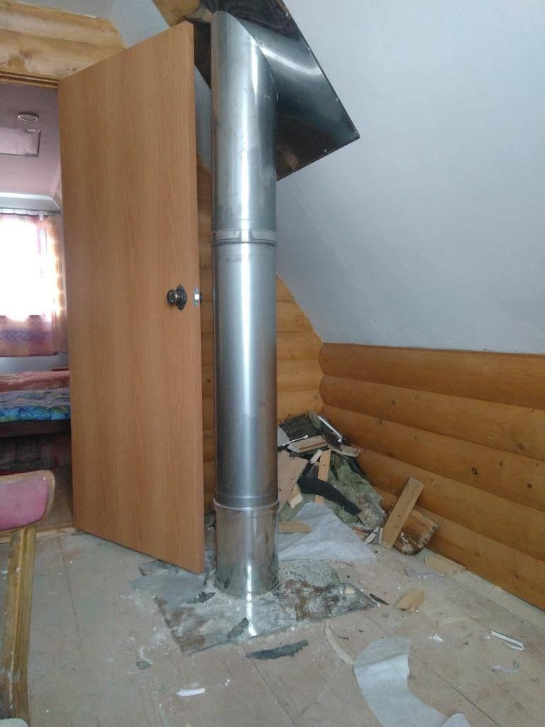 Как выполнить монтаж дымохода из сэндвич труб – подробная инструкция по установке