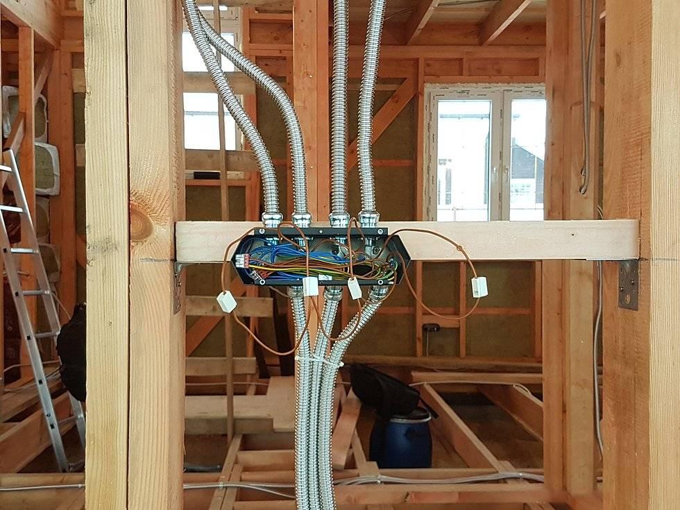 Проводка в деревянном доме: обзор правил | блог домашнего электрика