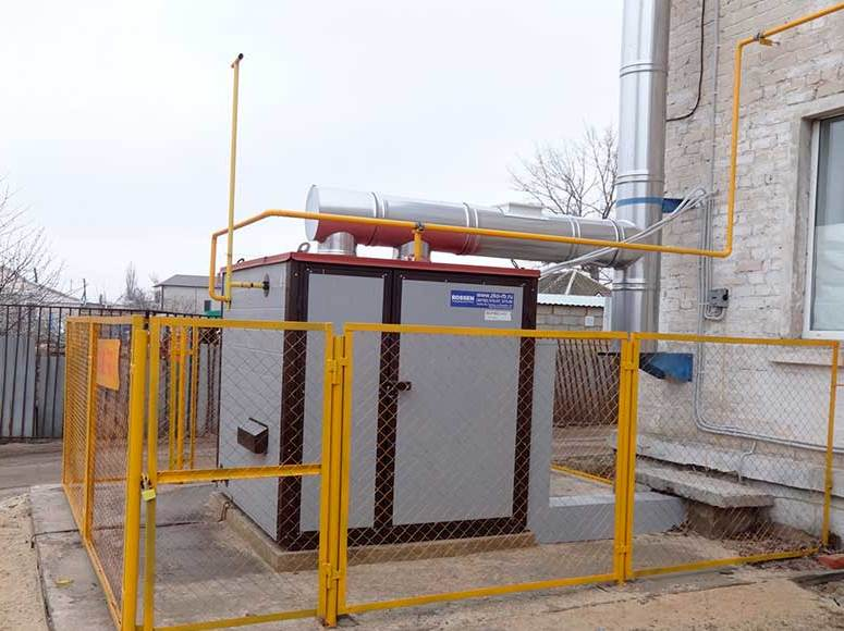 Уличные газовые котлы для отопления частного дома