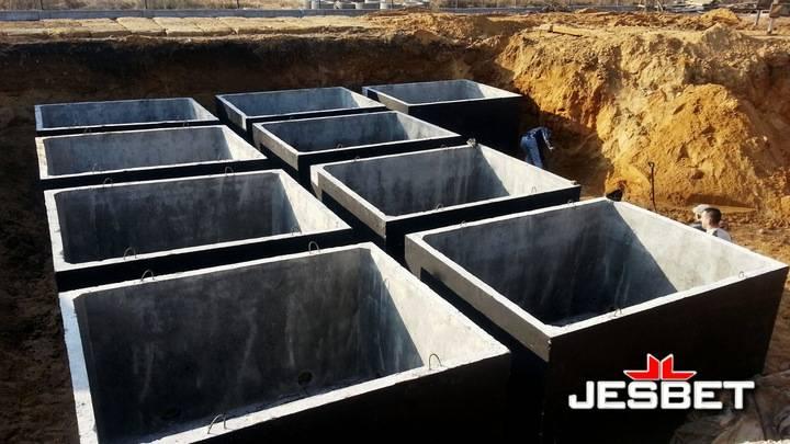 Монолитный септик из бетона своими руками