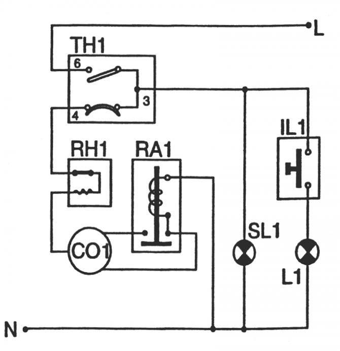 Электрическая схема холодильной установки - tokzamer.ru