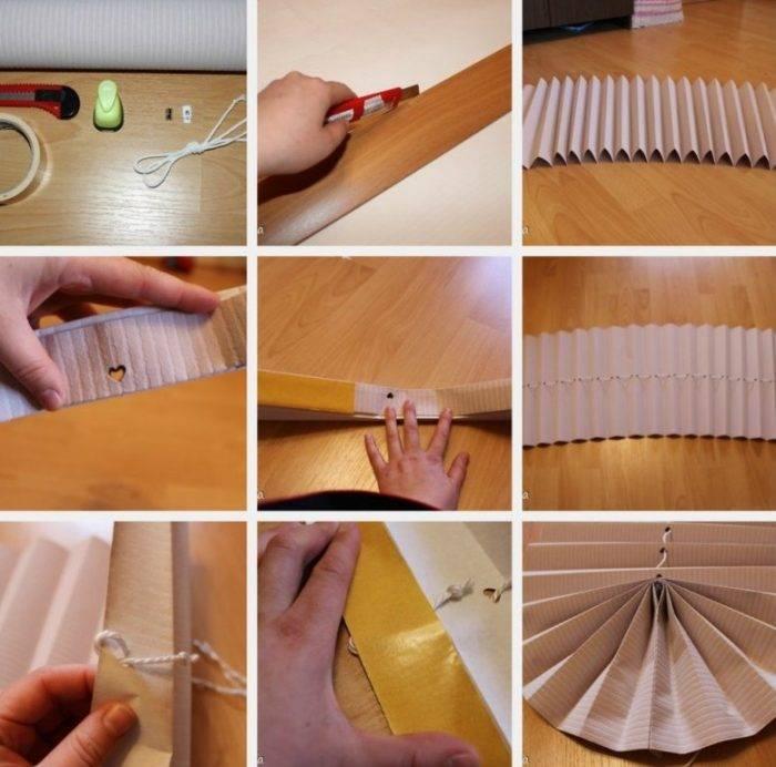Рулонные шторы своими руками, пошаговая инструкция изготовления