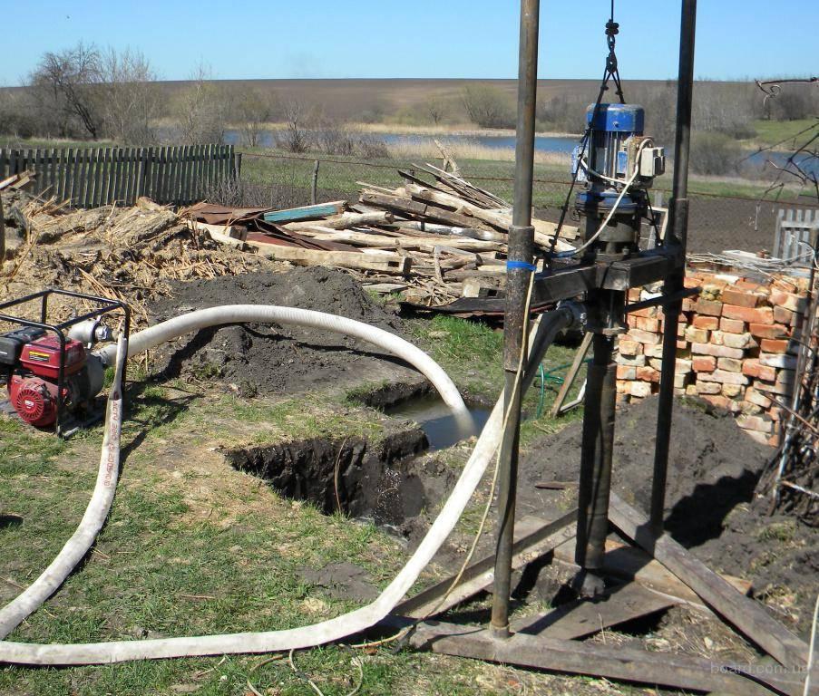 Технология гидробурения скважины на воду— инструкция с видео