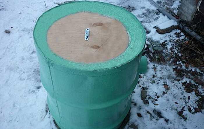 Как утеплить колодец на зиму своими силами