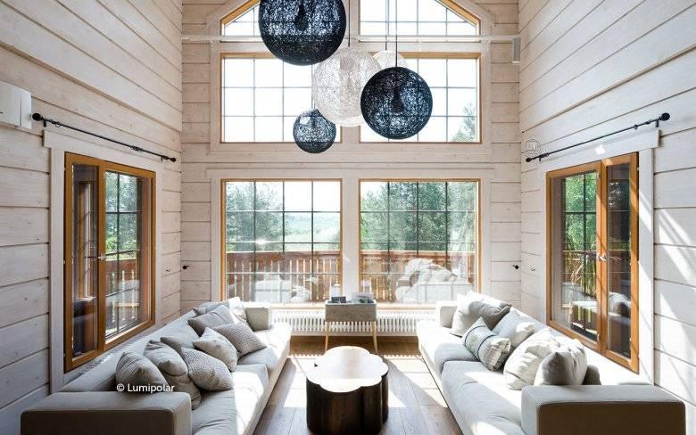 Квартира со вторым светом: комфорт и респектабельность