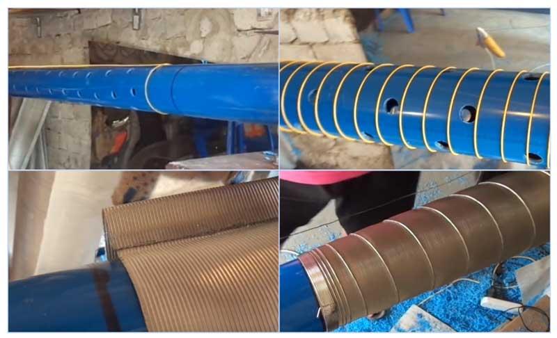 Изготовление скважинного фильтра своими руками