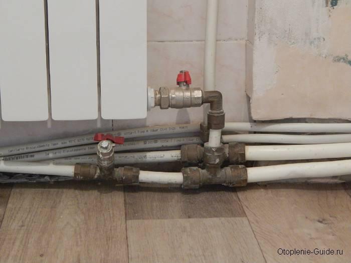 Как выбрать полипропиленовые трубы для отопления и как их установить