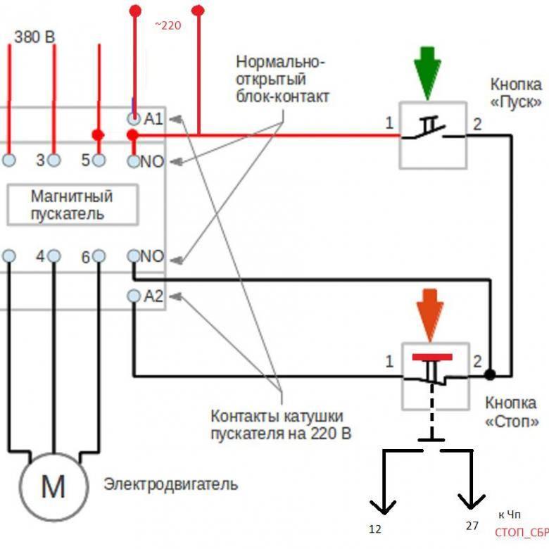 Магнитный пускатель 380 - всё о электрике