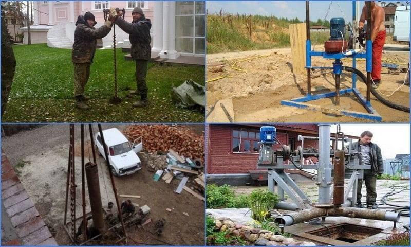 Гидробурение скважин на воду: о методе, преимущества и недостатки