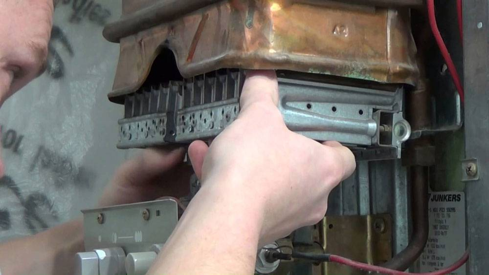 Как почистить газовую колонку: методы собственноручного обслуживания - точка j