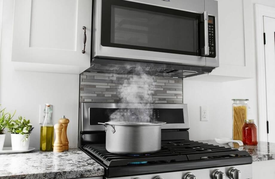 Можно ли ставить микроволновку рядом с плитой? - юридические советы от а до я