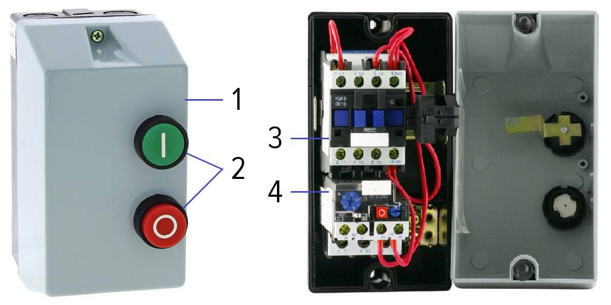 Магнитный пускатель на 220 и 380в: технические характеристики и схема подключения