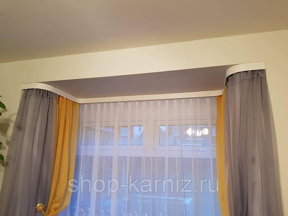 Скрытый карниз в натяжном потолке: как сделать нишу для штор (5 способов)